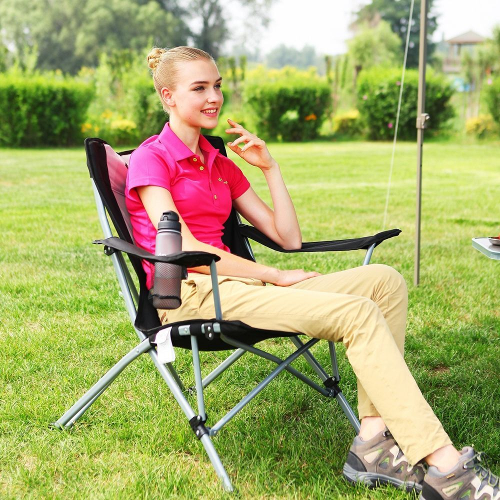 Folding Camping Chair Portable Hiking Chair Outdoor