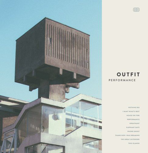 Outfit. Hadn't heard them until recently. Great electro vibe and full of warmth.