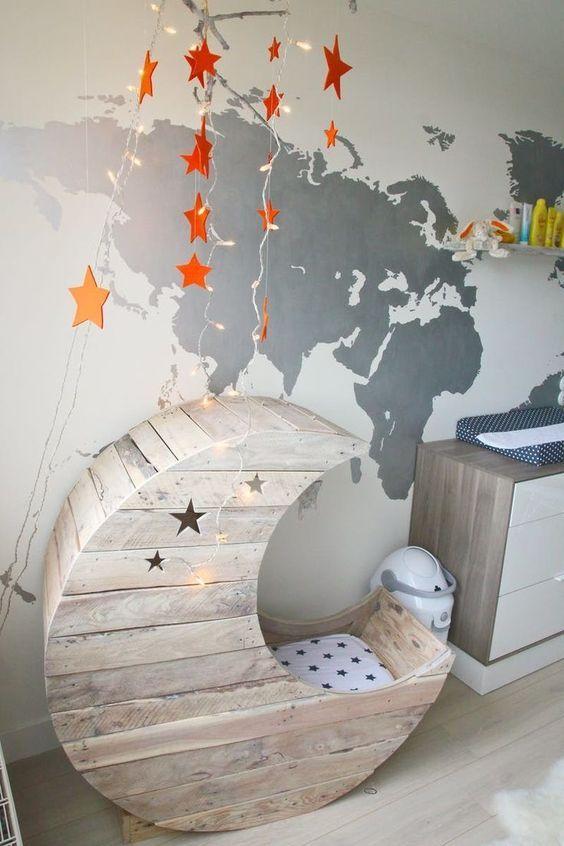 Babyzimmer Gestalten   Babywiege Anleitung Und 40 Tolle Ideen   DIY,  Kinderzimmer
