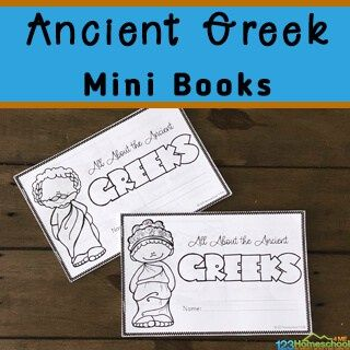 Photo of FREE Ancient Greece Printable Book