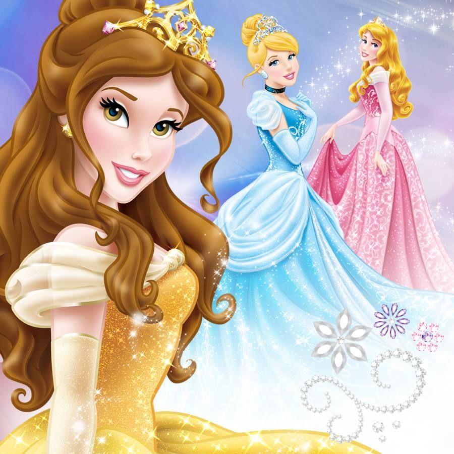 Bela Cinderela Aurora Princesas Disney Princesas Disney