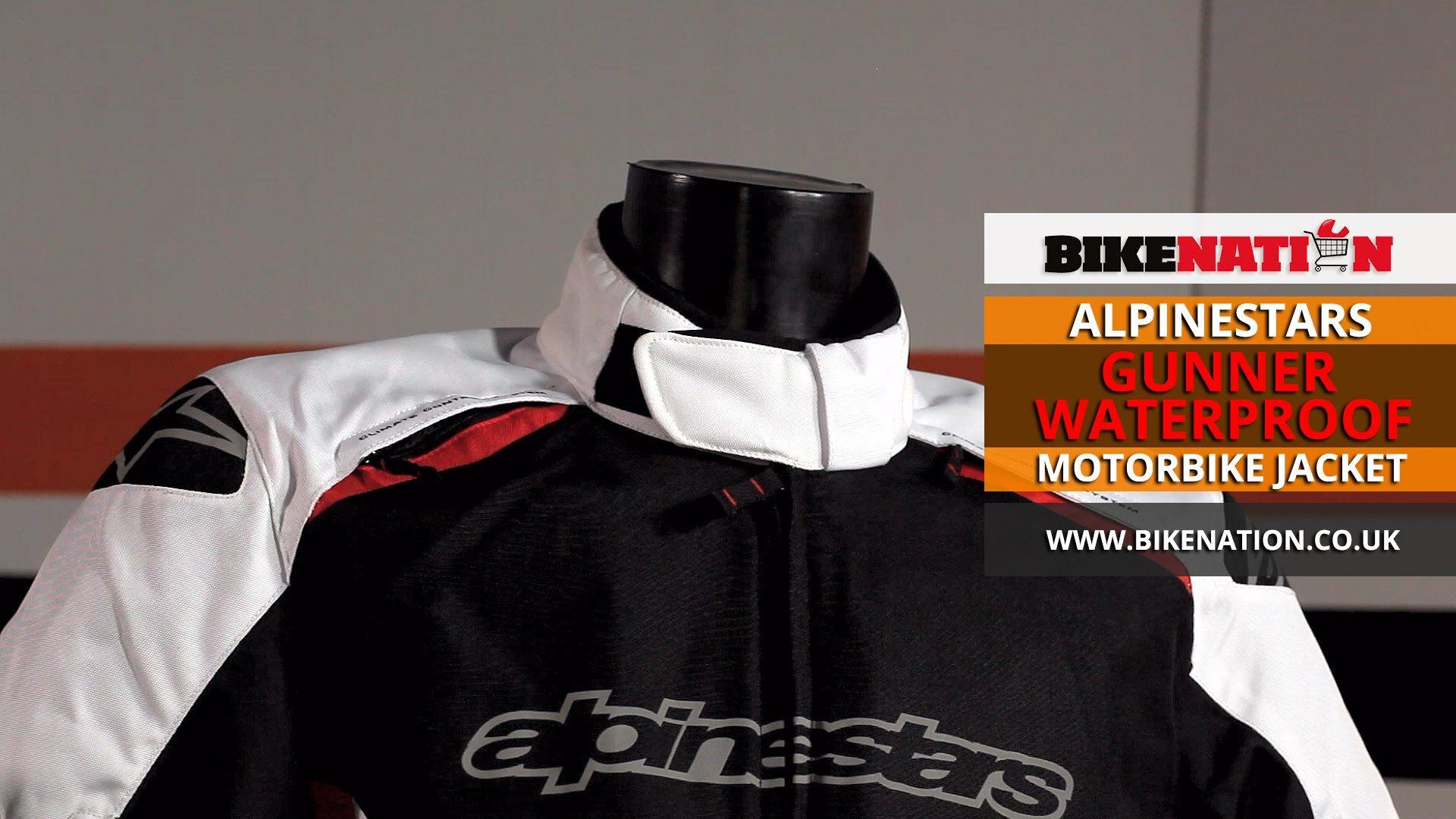 Alpinestars - Gunner WP Jacket  #Alpinestars #Gunner #waterproof #jacket #motorbike #bikenation