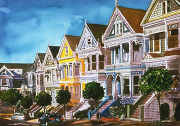 Painted Lady houses Pictures