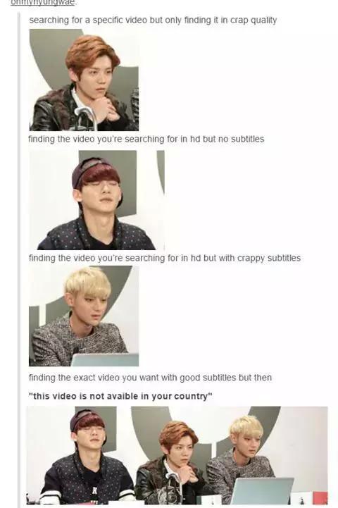 The Struggle Of Being An International Fan Fml Exo Exom Kpop