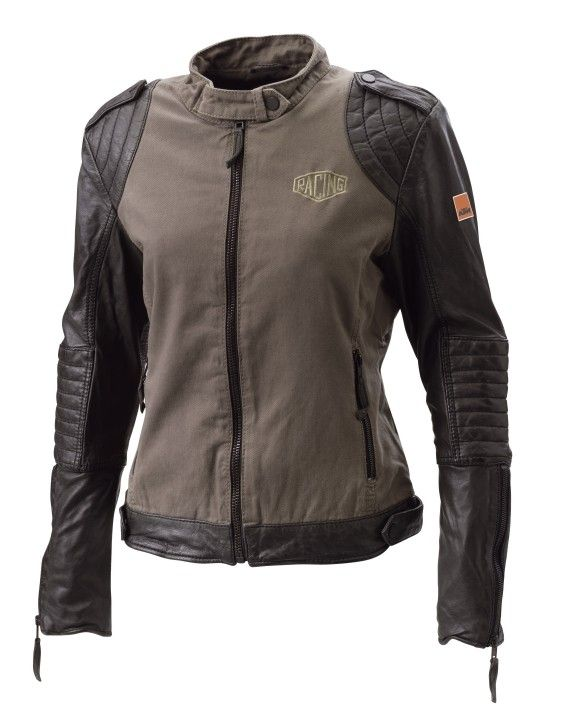Ktm Girls Leather Jacket Jackets Women Casual Powerwear
