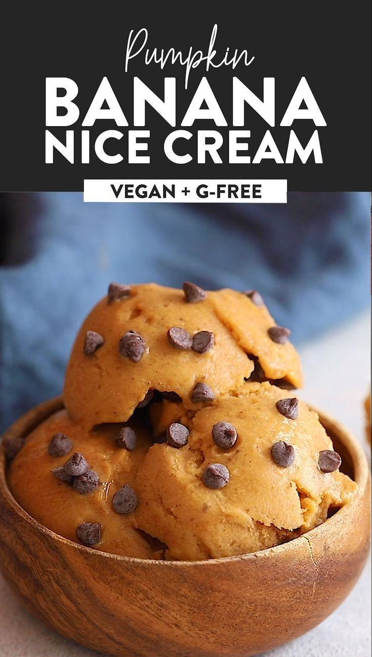 Nice cream made to taste like pumpkin pie? Heck yes! Made ...