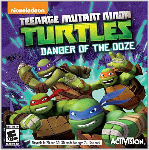Ninja Turtles Nintendo Ds Game With Images Teenage Mutant
