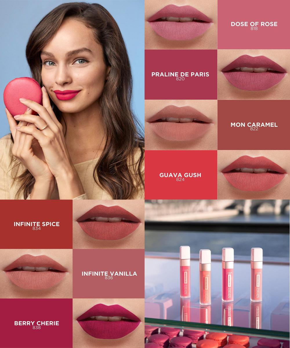 L'Oreal Paris Infallible Les Macarons 16HR Liquid Lipstick