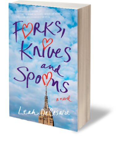 Satisfaction for Insatiable Readers:  Forks, Knives, and Spoons by Leah DeCesare via SparkPress