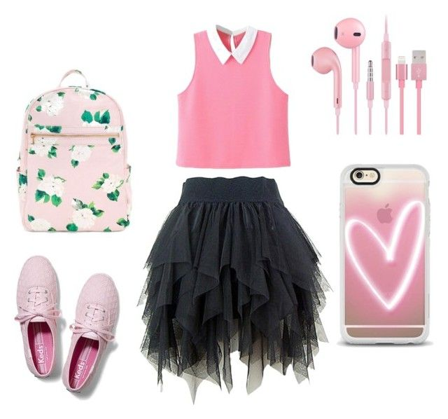 """""""School of Day's"""" by nastusha03406 ❤ liked on Polyvore featuring Keds and Casetify"""