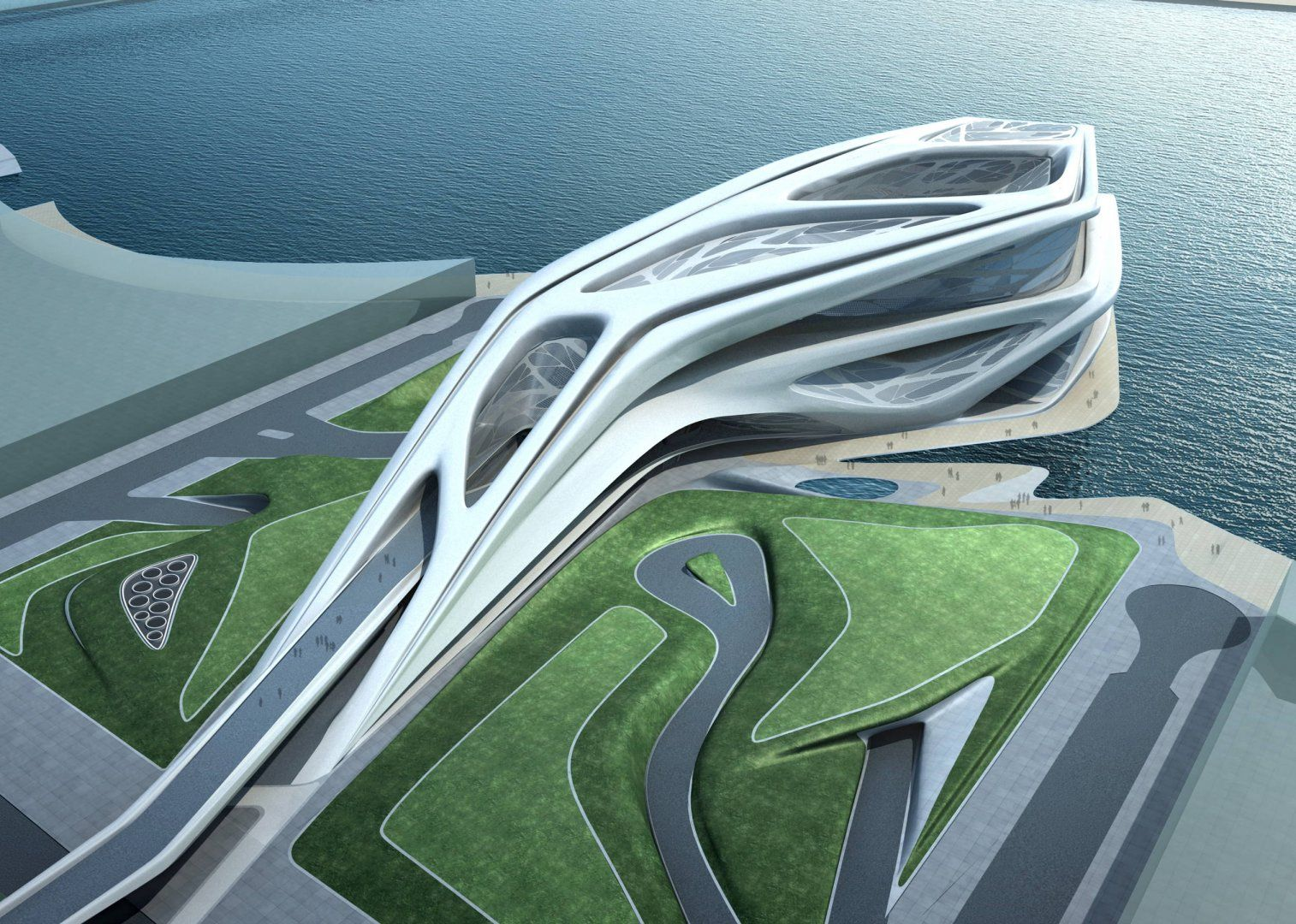 Abu dhabi performing arts centre architecture zaha for Arquitectura zaha hadid