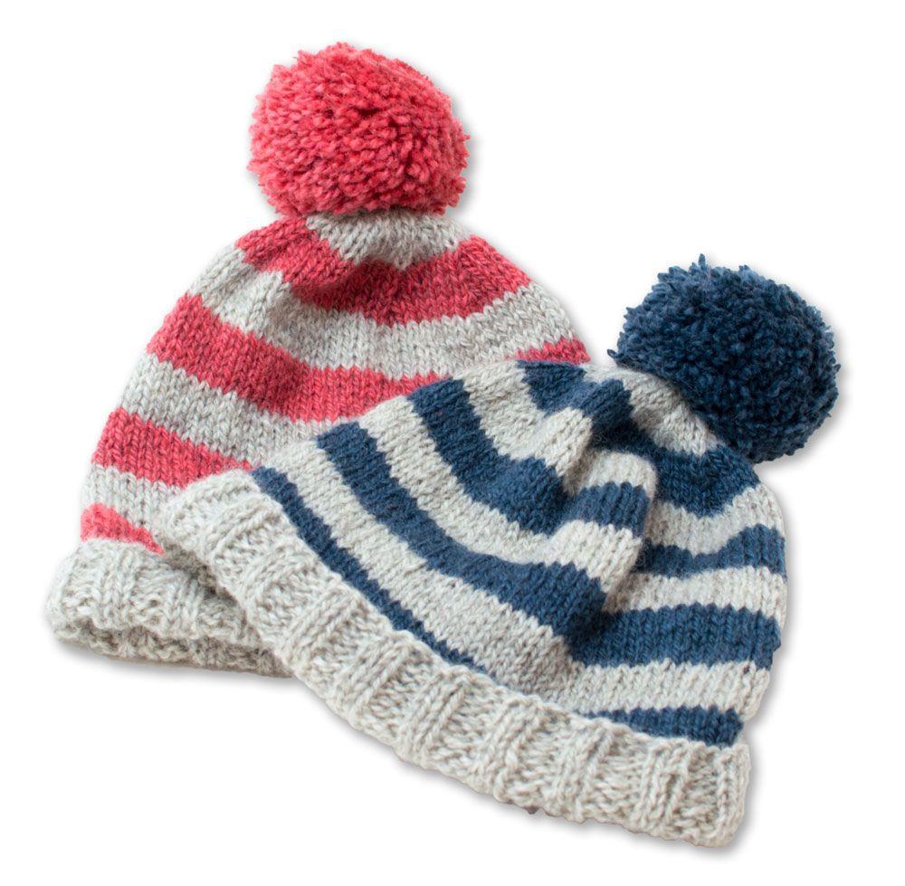 Sophie\'s Hat: Free Beginner Hat Pattern on Loop Knit Lounge ...