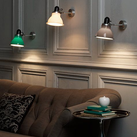 Anglepoise Wall Lights: 1000+ images about let it be light on Pinterest | Light walls, Double house  and Wall sconces,Lighting