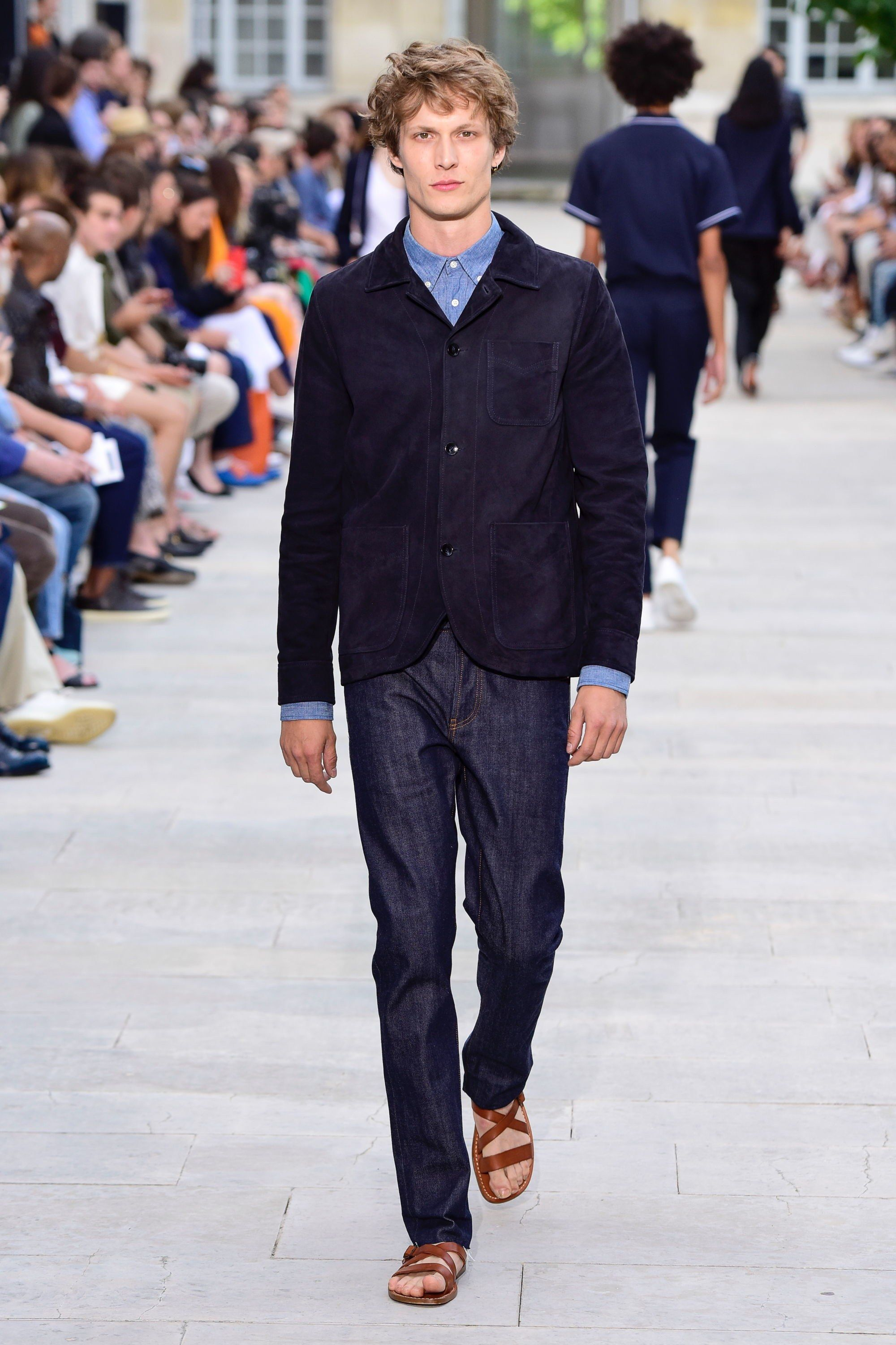Officine Générale Spring 2019 Menswear Fashion Show in 2019