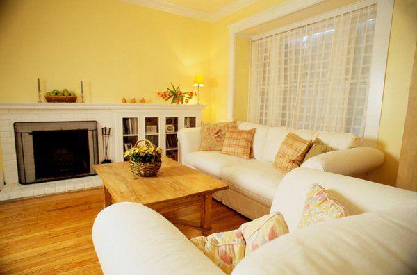 wohnzimmer wohnideen farben wandgestaltung wohnlich   farben, Innedesign