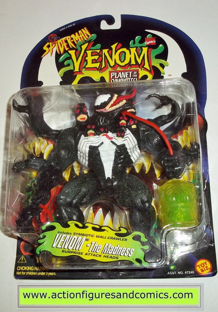 spiderman animated series venom the madness planet of