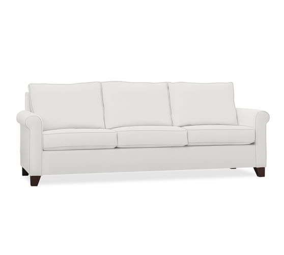 Cameron Roll Arm Upholstered Sofa Upholstered Sofa Rolled Arms
