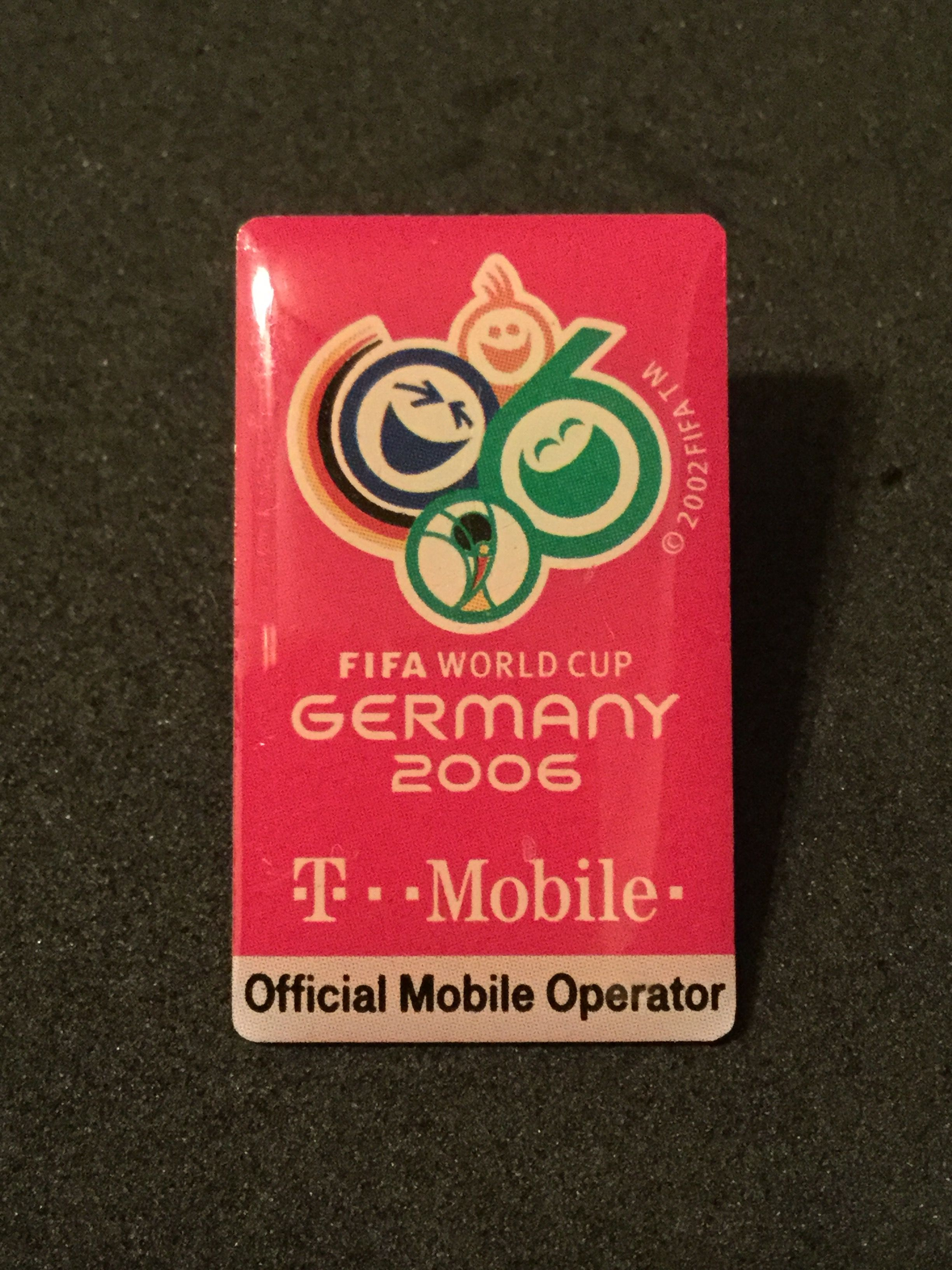 Germany World Cup 2006 T Mobile Sponsor Pin Duitsland