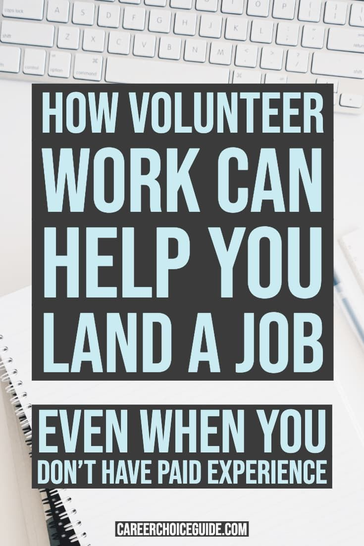 How to format your resume when your volunteer work is your