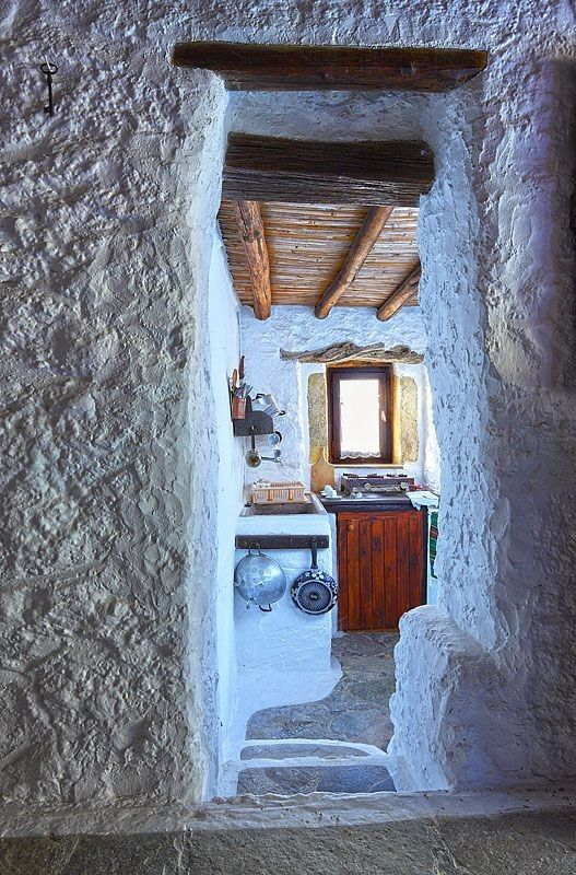 Cave House in Crete, Greece