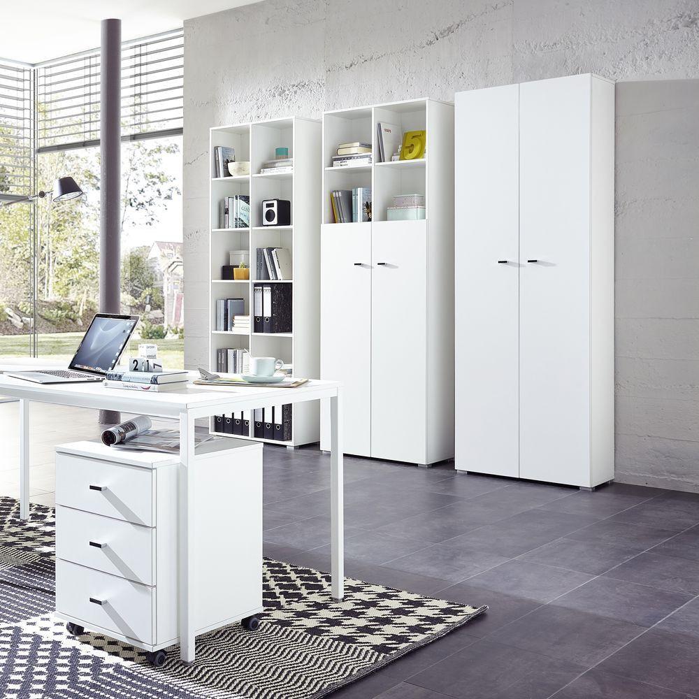Büromöbel weiß günstig  Büromöbel Master Türen 6er Raster weiß - Germania - Möbel günstig ...