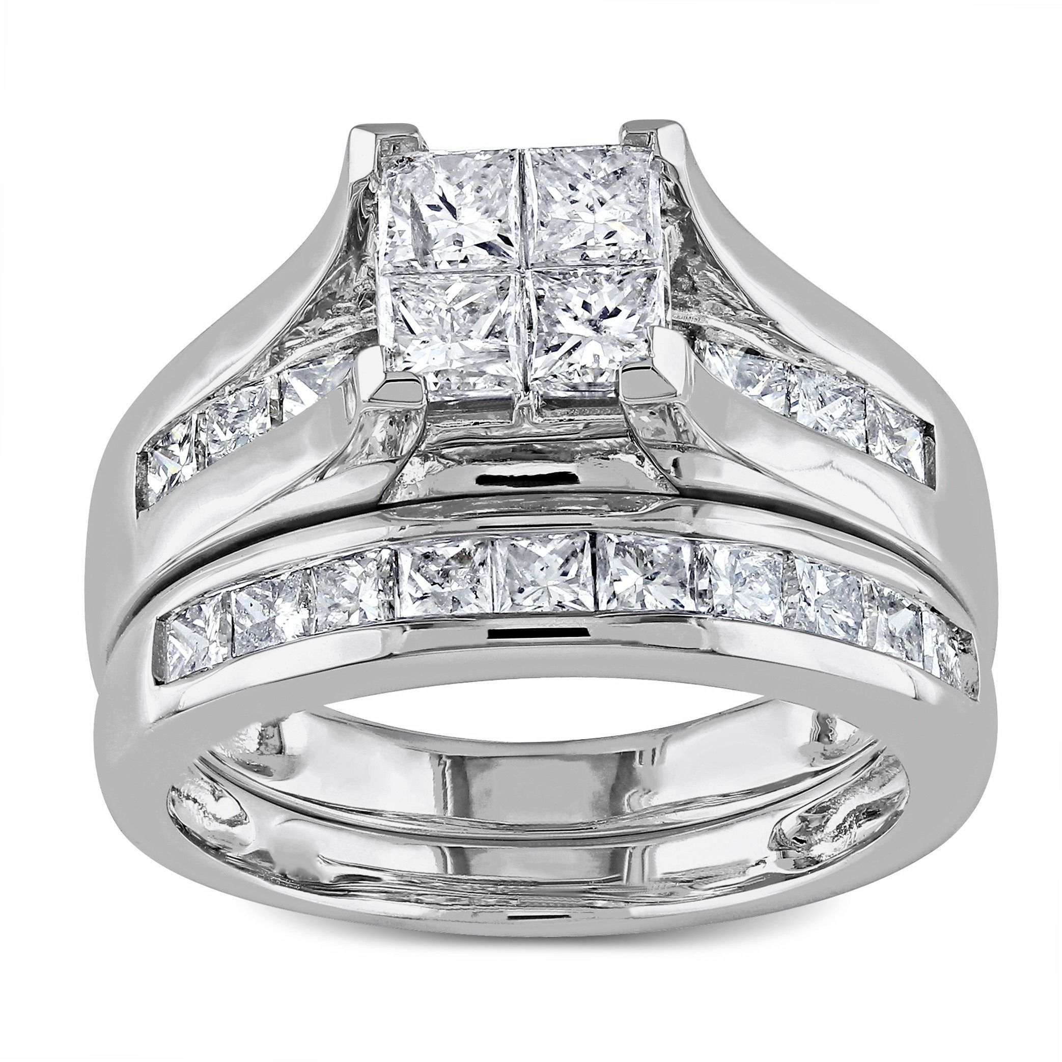 composite sterling silver carat com w t set jewellery bridal walmart diamond sets ip