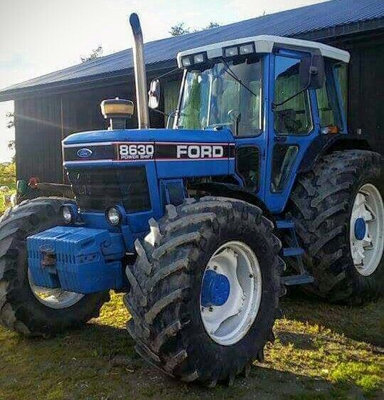 Ford 8630 Fwd Ford Tractors Old Tractors Classic Tractor