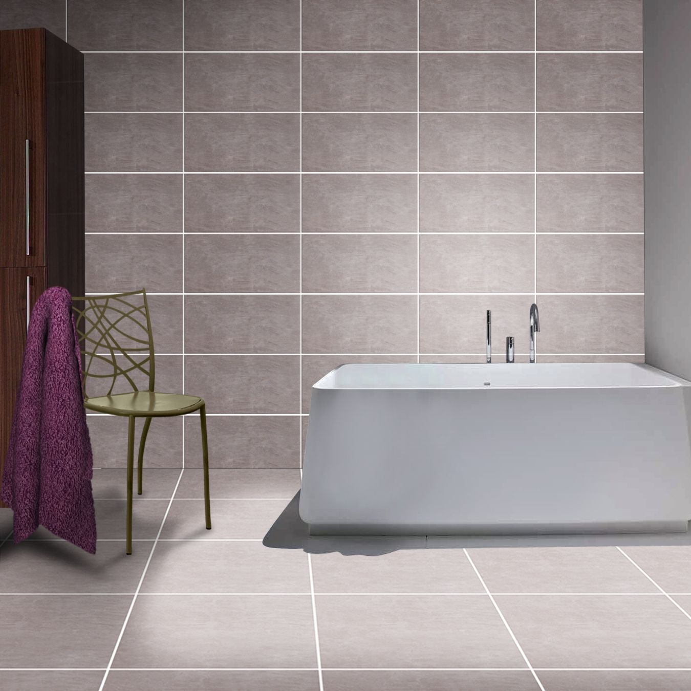 Kettlecove grey bathroom wall kettlecove collection pinterest shop style selections kettlecove gray ceramic wall tile common x actual doublecrazyfo Choice Image