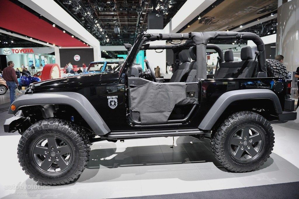 Jeep Wrangler Call Of Duty Black Ops Jeep Jeep
