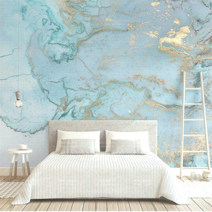 Questo non è lo stile animalier che tutti conosciamo, è molto di più. Retro Lusso Blu Abbronzante Texture Foto Carta Da Parati Grande Murale 3d Soggiorno Camera Da Letto Divano Tv Decor Home Wall Paint Designs Living Room Bedroom