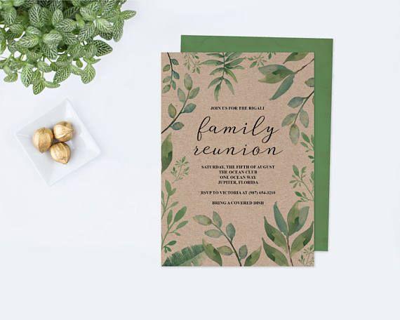 Family Reunion Invitations Family Reunion Invite Template New - invitations for family reunion