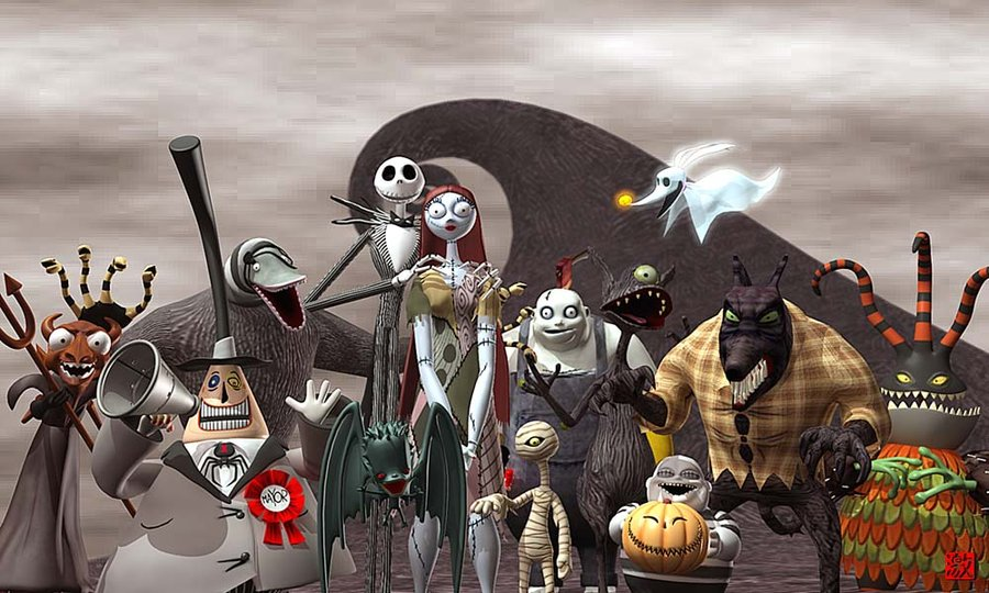 The Nightmare Before Christmas By Gekimuradeviantartcom On