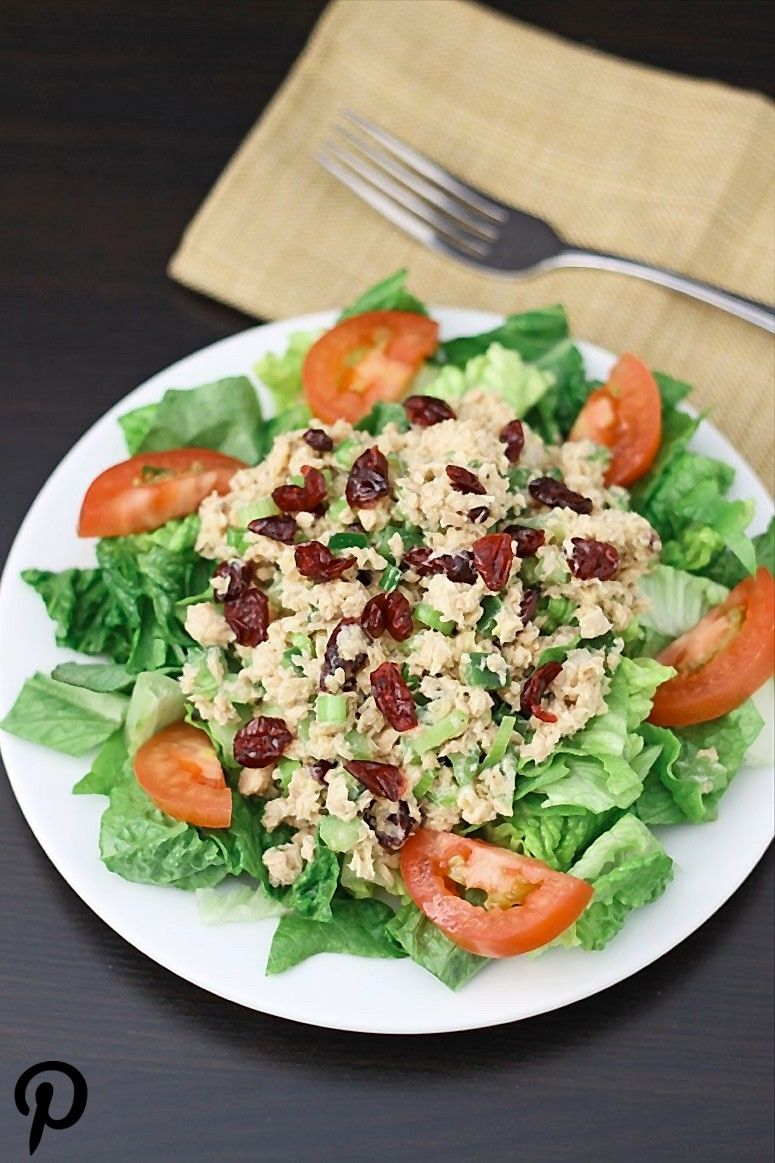 Lemon Dijon Salmon Salad omit cranberries and substitute a couple dashes of stevia in place of honey for Clean Gut