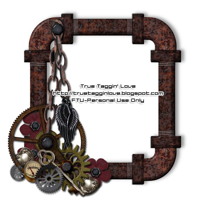 True Taggin\' Love!: Steampunk Frame cluster | Steampunk ideas ...