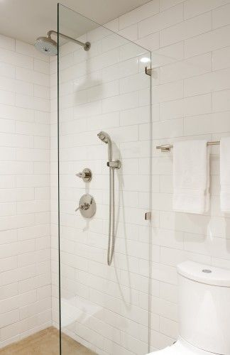 White glass and carrara marble shower bathroom pinterest marbles also
