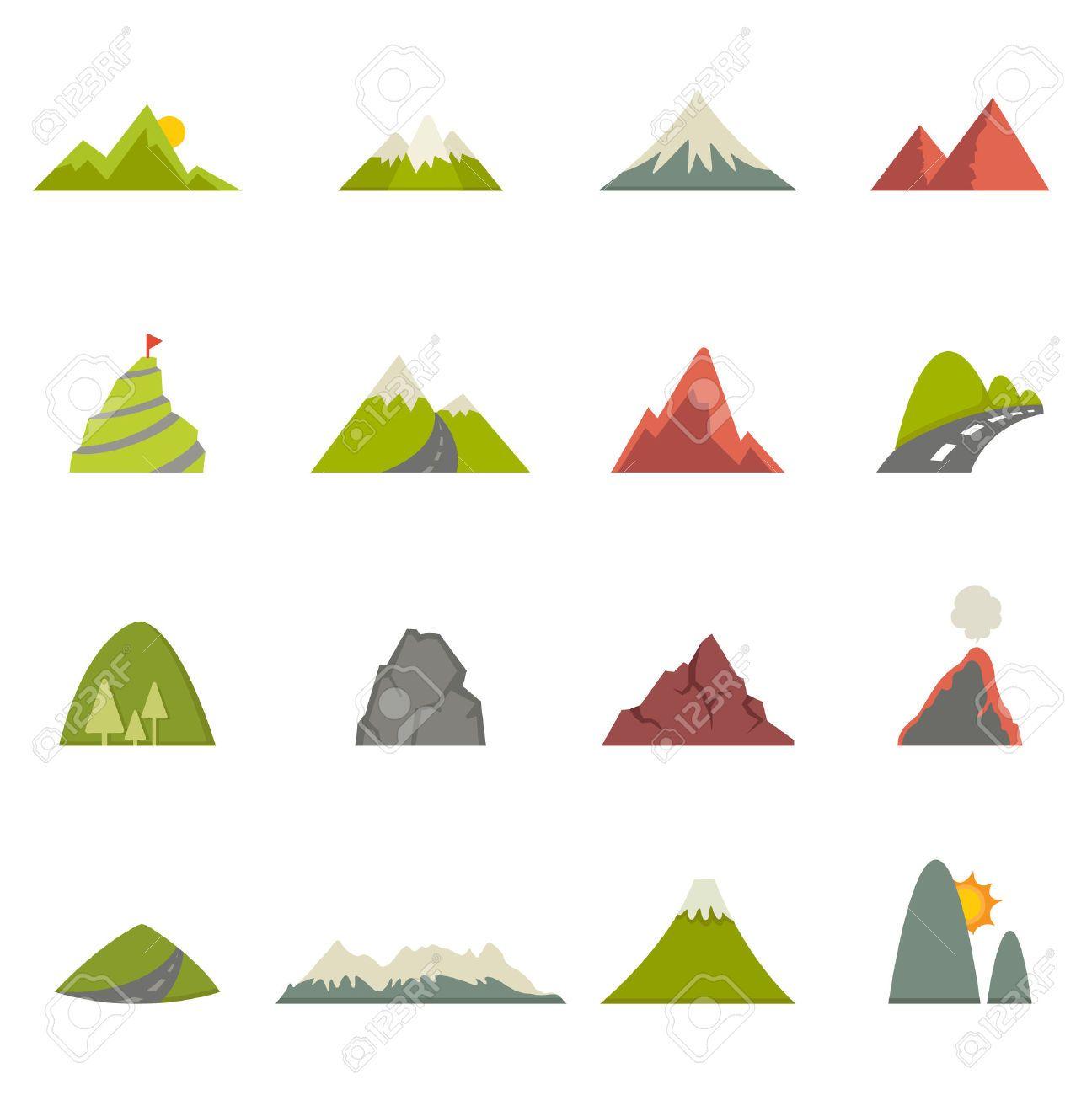 Mountain Flatdesign: Mountain Illustration - Google