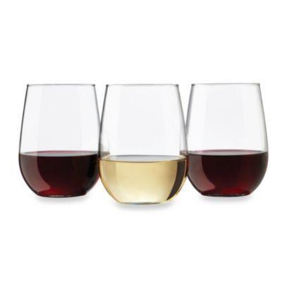 Dailyware 12 Piece Stemless Wine Glass Set Wine Glass Set Stemless Wine Glasses Stemless Wine Glass