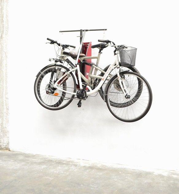fahrrad wandhalterung f r 2 r der liftup ein schatz bei. Black Bedroom Furniture Sets. Home Design Ideas
