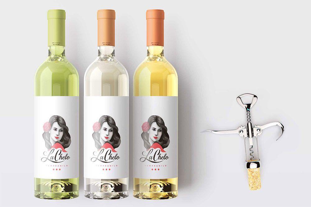 Free Wine Bottle Label Mockup In Psd Free Wine Bottle Label Mockup Psd Free Wine Bottle Labels Wine Bottle Wine Bottle Labels