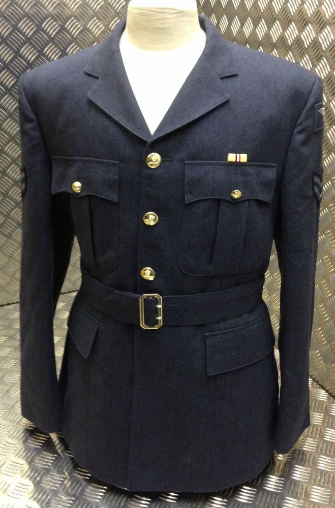 Genuine British Royal Navy White Officers No1.BW and Class 1 Uniform Jacket