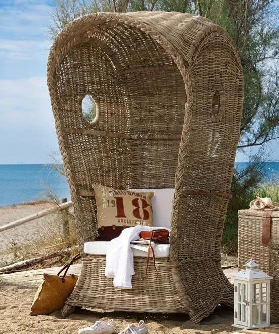 Im eigenen Garten fühlen wie am Strand Sommerfeeling auf der