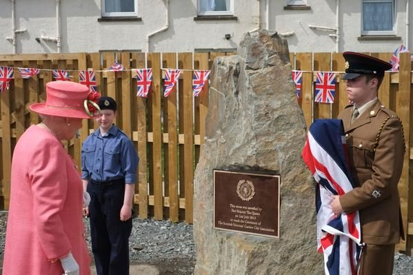 The Queen meets Veterans and Guests of The Scottish Veterans Garden City Association to mark their Centenary