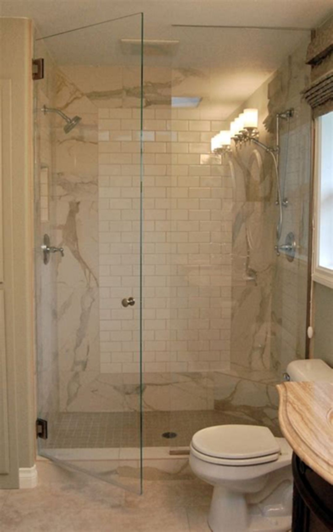 20 top stand up shower design for small bathroom ideas