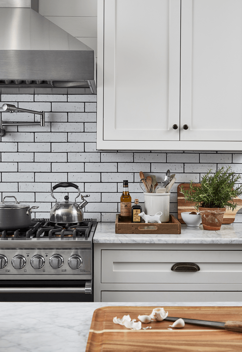 Pin by Emily Kimball on kitchen in 2020 White tile