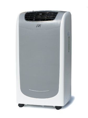 Portable 13 000 Btu Air Conditioner With Heater By Spt 729 95 Built In Water Tank And Extended Wa Standing Air Conditioner Air Conditioner With Heater Air Conditioning System
