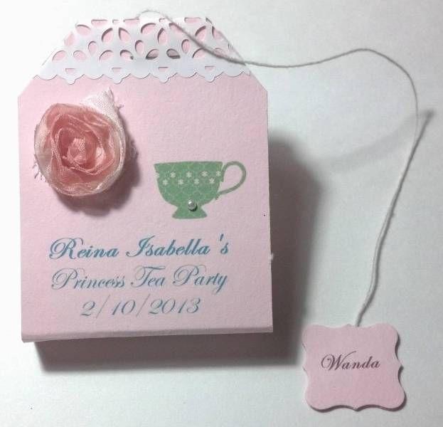 Tea Bag Holder 2 Cards I Love Inspire Me Homemade Tea Tea