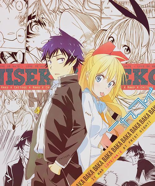 Nisekoi~ I ship them ❤️