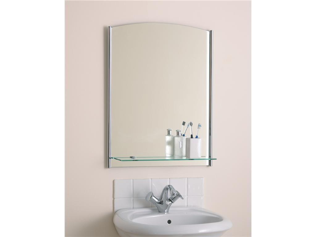 Small Bathroom Mirrors With Shelf | Bathroom Decor | Pinterest ...