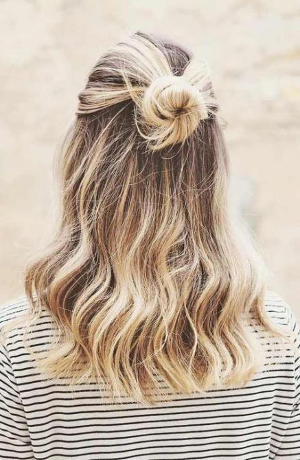 35+ Trendy Ideen Frisuren für die Schule Hochsteckfrisur einfach,  #die #EasyHairstylesforkid…