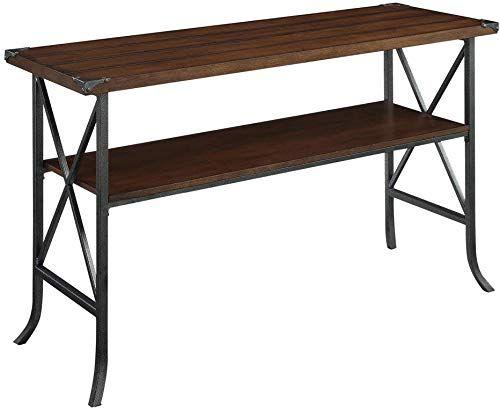 New Convenience Concepts Brookline Console Table, Dark Walnut online - Findtopbrandsgreat